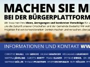 Flyer für die Bürgerplattform Biederitz 2030
