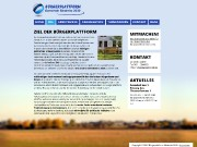 Homepage der Bürgerplattform Biederitz 2030 - www.biederitz2030.de