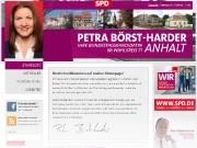 Petra Börst-Harder – Bundestagskandidatin im Wahlkreis 71 – Anhalt *
