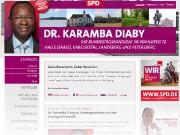 Karamba Diaby – Bundestagskandidat im Wahlkreis 72 – Halle (Saale) *