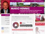 Mario Hennig – Bundestagskandidat im Wahlkreis 68 – Harz *