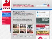 Homepage der IG-BCE Ortsgruppe Halle (Saale) - www.igbce-halle.de