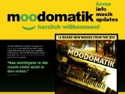 Homepage von Moodomatik
