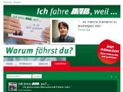Aktionshomepage www.ichfahremvb.de