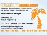 Visitenkarte Strandbar Magdeburg