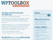 Screenshot WPToolbox