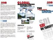 Faltblatt für die SDI-Molan GmbH & Co. KG aus Schönebeck