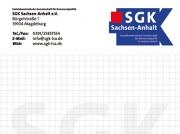 Notizblöcke, SGK Sachsen-Anhalt e.V.