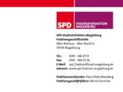 Briefbogen für die SPD-Stadtratsfraktion Magdeburg