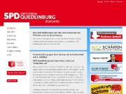 Homepage der SPD Quedlinburg - www.spd-quedlinburg.de