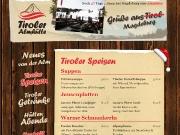 Homepage der Tiroler Almhütte