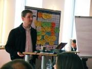 Matt Mullenweg beim WordCamp 2009 in Jena (14.02.2009)