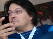 Florian Hans beim WordCamp 2009 in Jena (14.02.2009)