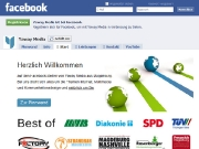 Yaway-Seiten auf Facebook