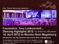 Dancing Highlights 2012 Magdeburg