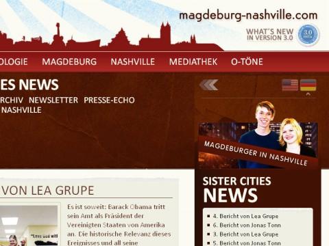 Relaunch magdeburg-nashville.com