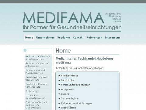 medifama mit neuer Homepage