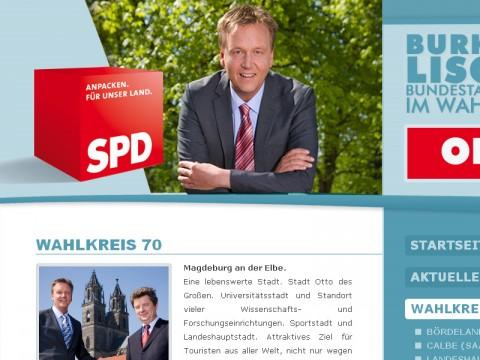 Homepage für Burkhard Lischka, MdB