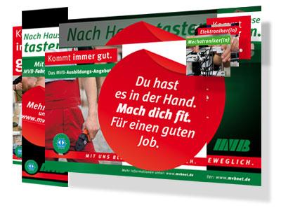 Banner-Animationen für die Magdeburger Verkehrsbetriebe