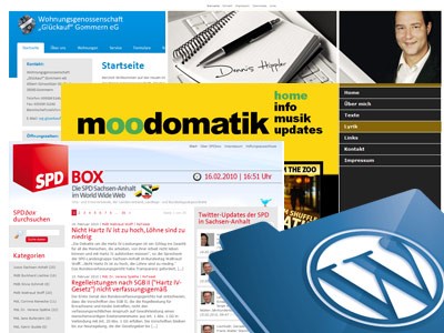 Neue WordPress-Projekte