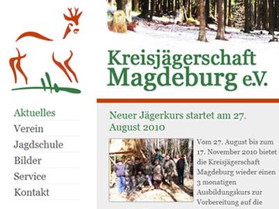 Neue Homepage der Kreisjägerschaft Magdeburg online