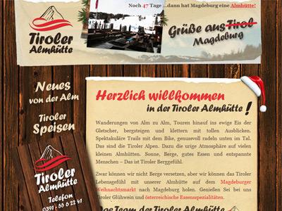 Corporate Design Starterpaket für die Tiroler Almhütte