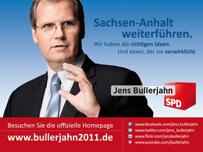 "Mit der Online-Kampagne ""Bullerjahn 2011″ in den Landtagswahlkampf in Sachsen-Anhalt"