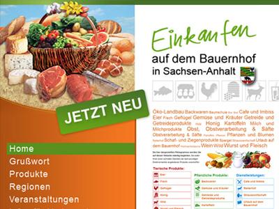 Direktvermarkter aus Sachsen-Anhalt präsentieren sich auf neuem Internetportal
