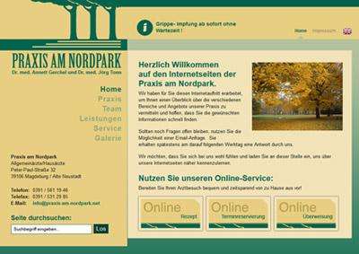 Neue Praxishomepage für Allgemeinärzte aus Magdeburg online