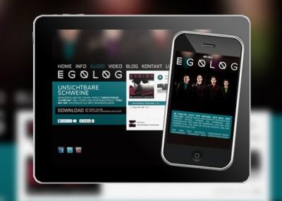 Magdeburger Band Egolog präsentiert sich und ihre Songs im Internet der Öffentlichkeit
