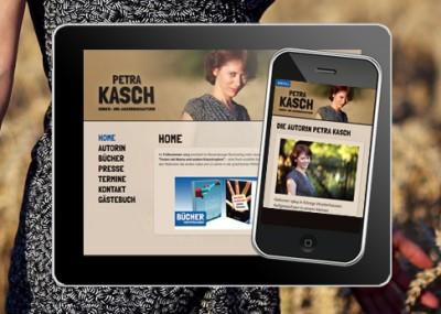 Homepage der Schriftstellerin Petra Kasch online