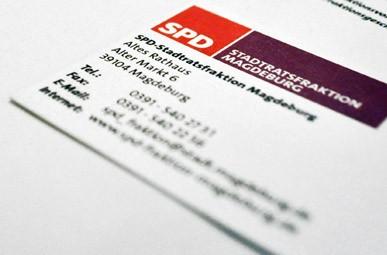 Neues Corporate Design und Homepage-Relaunch der SPD-Stadtratsfraktion der Landeshauptstadt Magdeburg