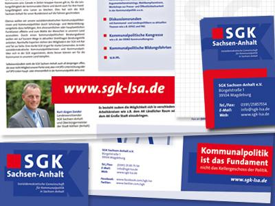 Neues Corporate Design für SGK Sachsen-Anhalt e.V.