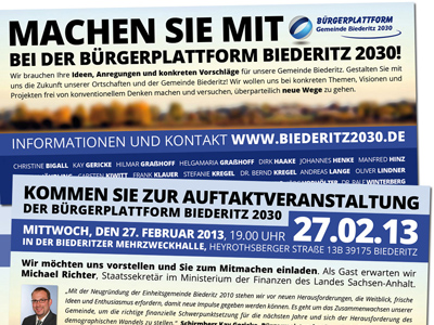 Yaway unterstützt Bürgerplattform Biederitz 2030