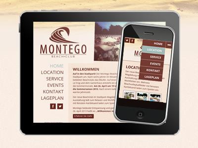 Montego Beachclub startet mit neuer Website und neuem Beach- und Freizeitareal im Stadtpark